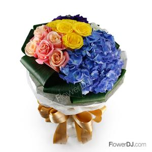 Ao316 Colorful Taiwan Florist Flower
