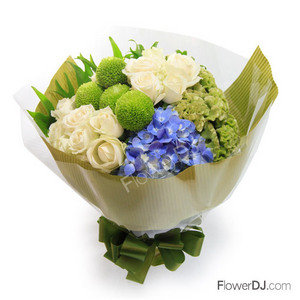 Ao035 Natural Beauty Taiwan Florist Flower