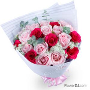Ao468 Love My Wife Mixed Roses Taiwan Florist Flower