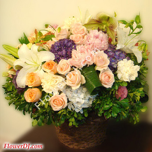 Ad101 Elegant Classic Taiwan Florist Flower