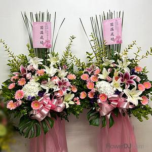Ac025 Great Success One Pair Taiwan Florist Flower